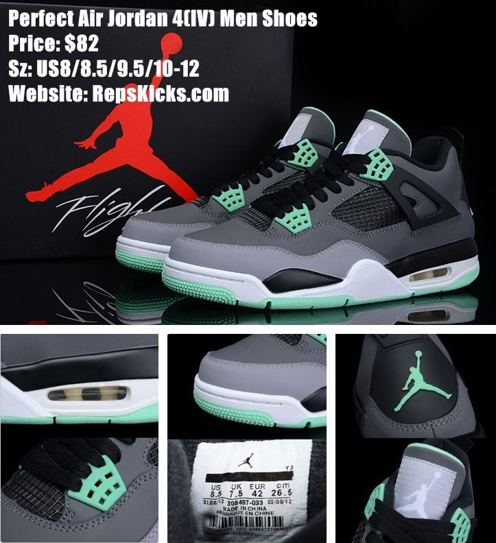 Perfect Air Jordan 4(IV) Men Shoes at wholesale price. #sneaker #