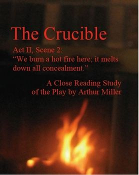 an analysis of the main themes of the crucible a play by arthur miller Higher english critical essay, revision notes on arthur miller's play 'the crucible'  step by step guide to using peel for year 10 language english analysis.