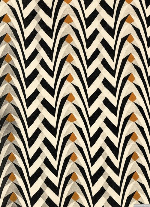black, white and gold pattern