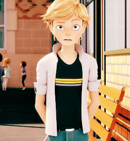 I just adore him as Adrien. <3