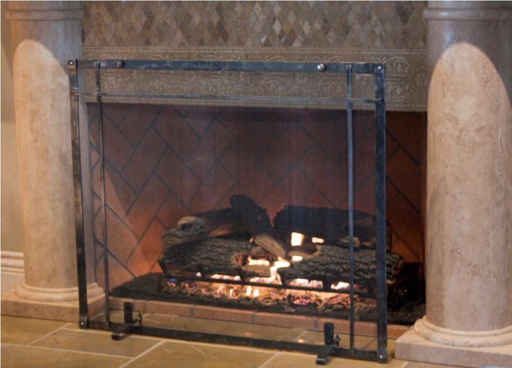 Best 25+ Custom fireplace screens ideas on Pinterest | Fireplace ...
