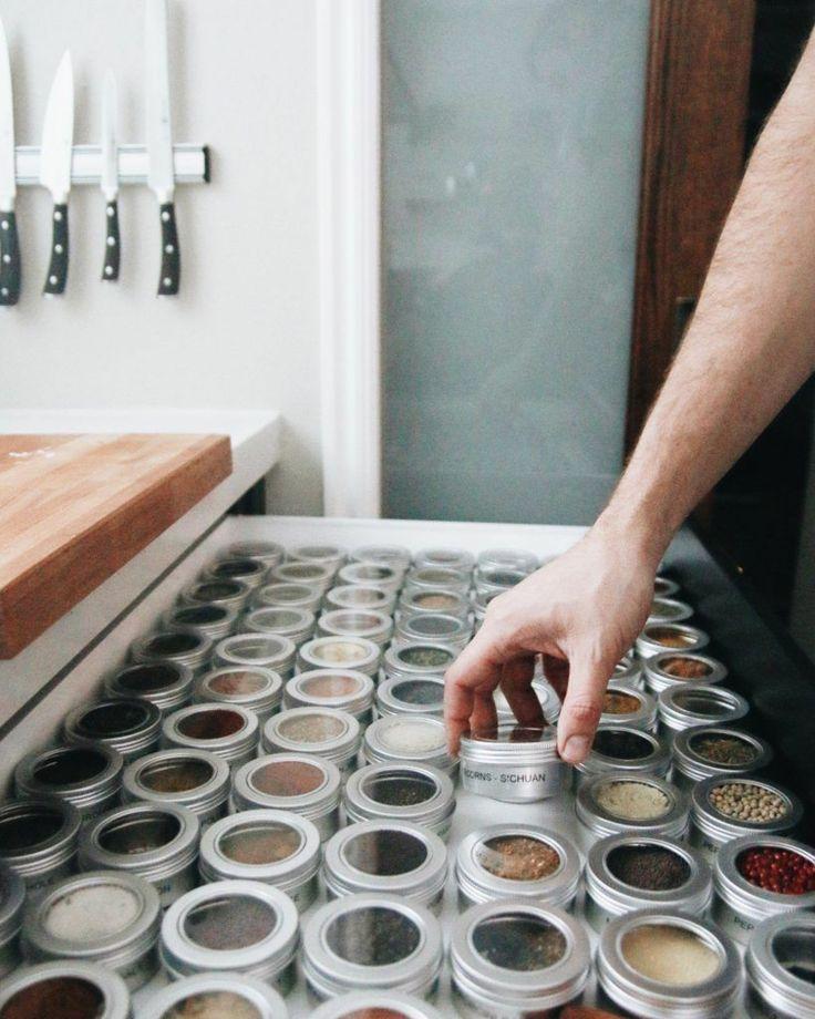 101 praktische gew rzaufbewahrung ideen gew rze aufbewahren k che k chen ideen und vintage. Black Bedroom Furniture Sets. Home Design Ideas
