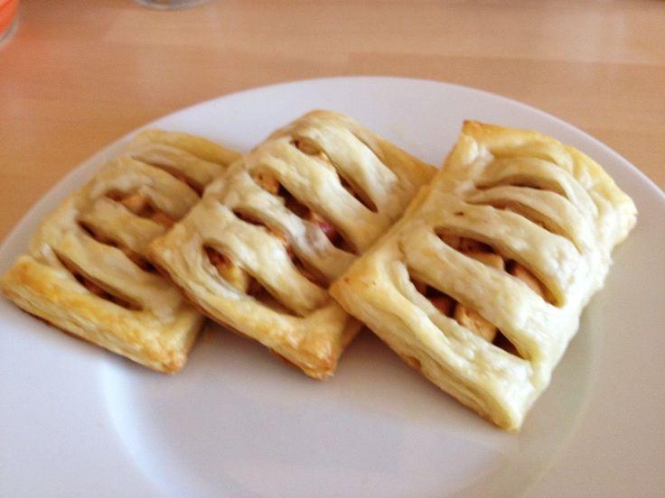 Ciastka francuskie z jabłkami @ http://allrecipes.pl