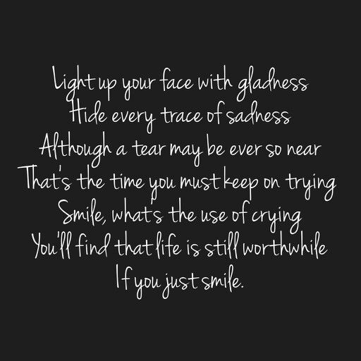 Smile by Michael Jackson