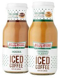 Krispy Kreme coffee drink