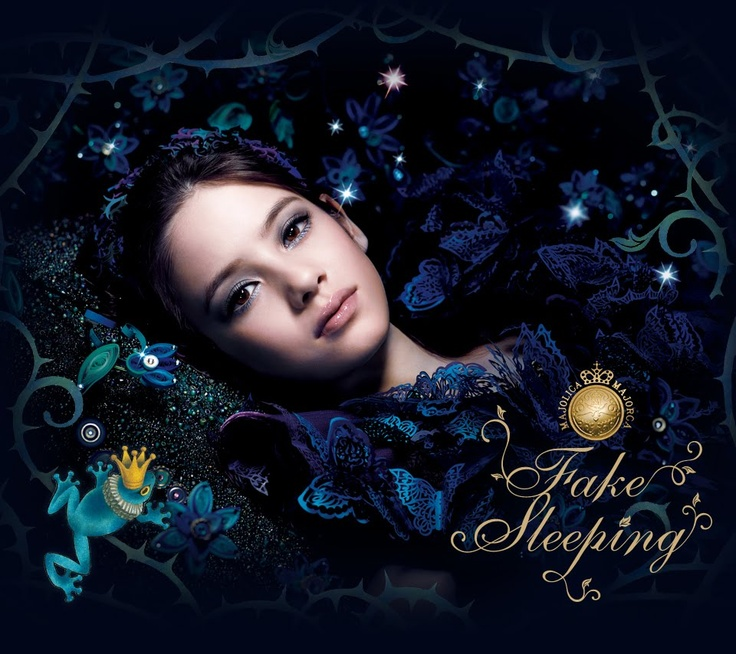 Majolica Majorca - love the makeup look, love the ad, love the packaging