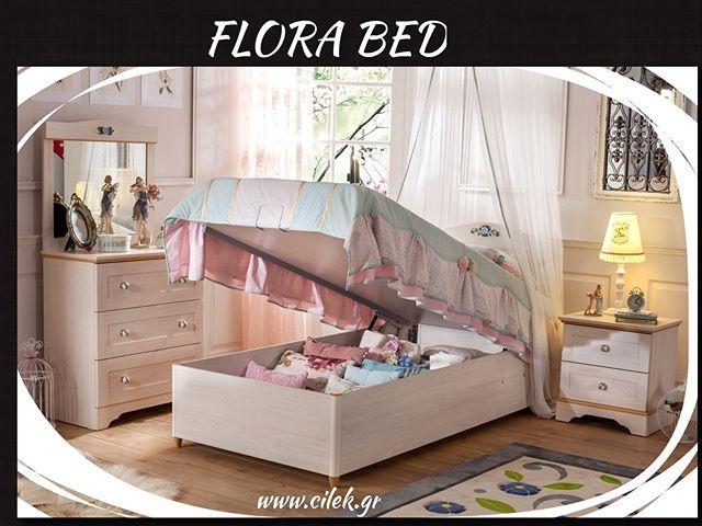 Παιδικό κρεβάτι με αποθηκευτικό χώρο από την σειρά Flora Ένα κρεβάτι με  μεγάλο αποθηκευτικό χώρο για. Επισκεφτείτε το 926b43aad3d