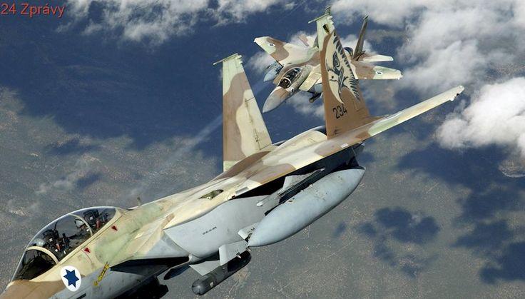 Izraelské stíhačky zaútočily na výzkumné vojenské centrum v Sýrii