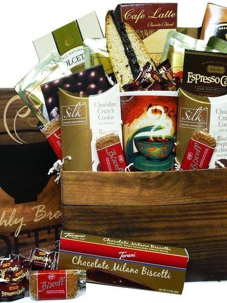 Coffee Lovers Snacks and Treats Gift Box Set with Mug