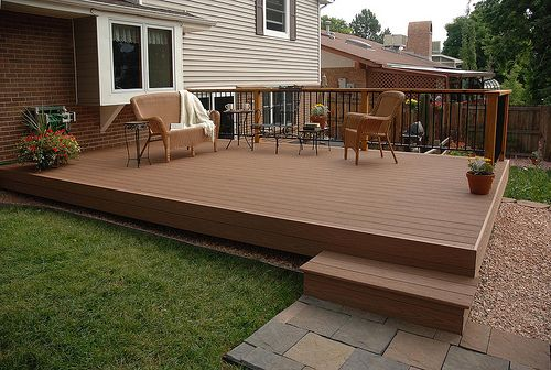 Pictures Of Backyard Patios: 1000+ Ideas About Small Deck Designs On Pinterest