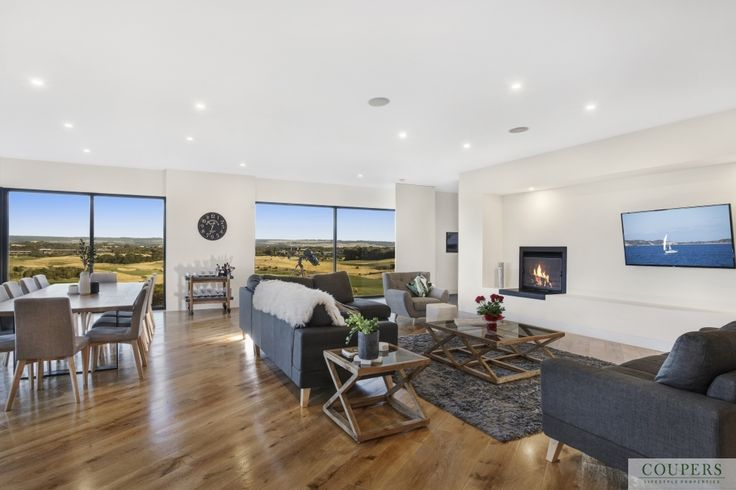 SOLD  22 Old Tom Morris Lane Uninterrupted panoramic views of the naturally beautiful Mornington Peninsula coastal landscape