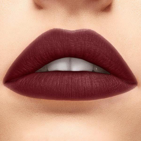 Burgundy Color Lipstick Matte In 2020 Wine Lipstick Wine Red Lipstick Lip Color Lipstick