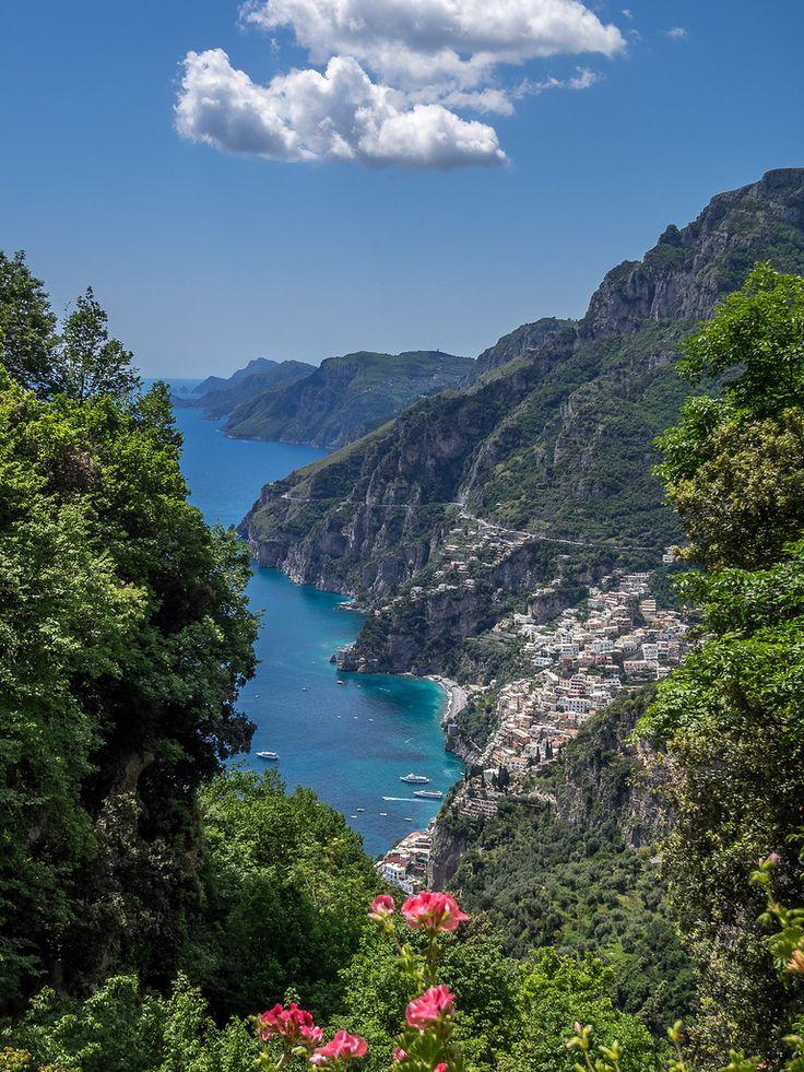 Along the Pathway of the Gods, Sentiero degli Dei. Positano on Amalfi Coast from Nocelle | by Bobrad