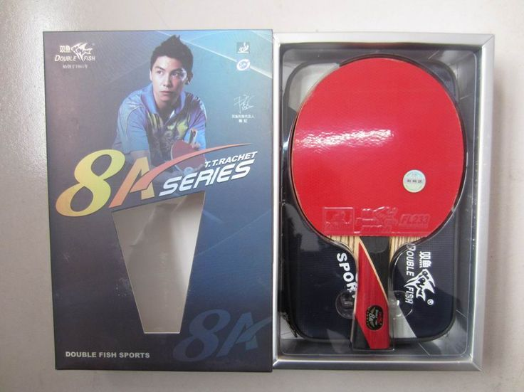 Original finished rackets double fish 8 stars 8ae 8ac table tennis rackets racquet sports carbon blade fast attack loop