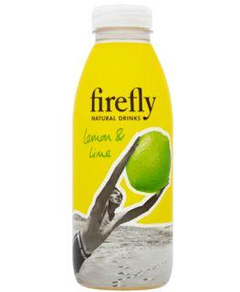 Refresco Firefly a base de zumo de lima y glimón y extractos botánicos naturales.