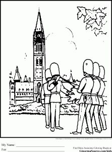 ottawa coloring pages
