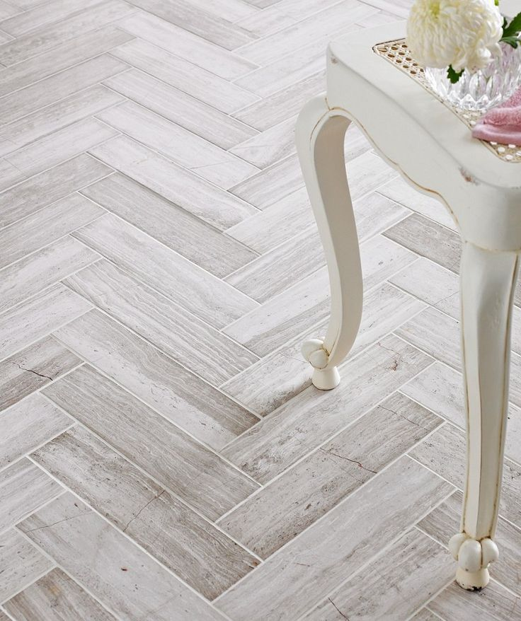 Bleach whitewash wood herring bone pattern love it. Teakwood Polished 7.5x30.5 Tile | Topps Tiles
