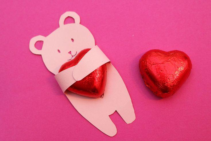 Valentines card - alla hjärtan dags pyssel