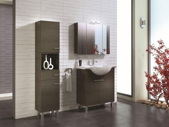 Szafka podumywalkowa / washbasin cabinet MODULUS 65 TRUFLA z umywalką ceramiczną VERONA 65 | Meble łazienkowe / bathroom furniture ceramic washbasin / Meble ELITA \ Elita MODULUS |
