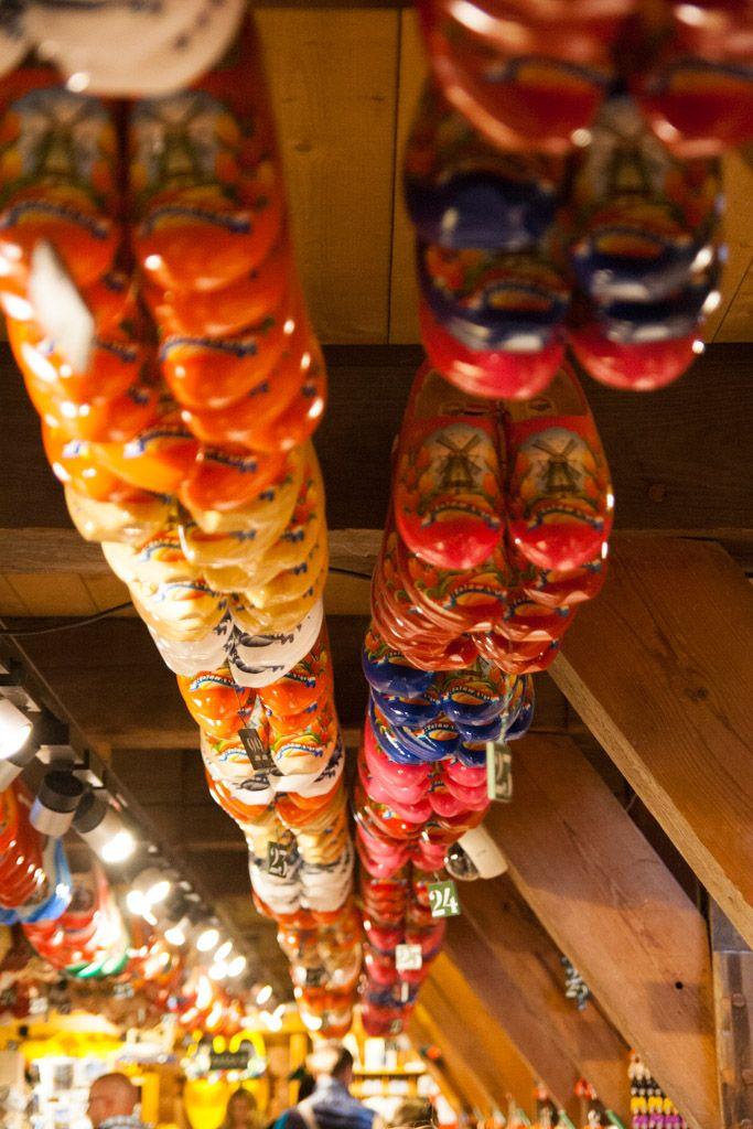Clogs at Zaanse Schans, Netherlands | Dřeváky v Zaanse Schans, Nizozemsko