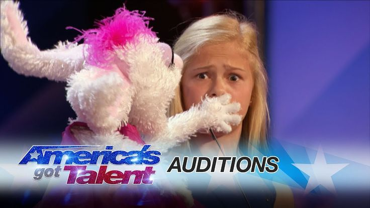 "Darci Lynne: 12-Year-Old Singing Ventriloquist Gets Golden Buzzer - AGT (love this girl! saw her on another show, before..i think on ""Little Big Shots""..very very talented!!!)"