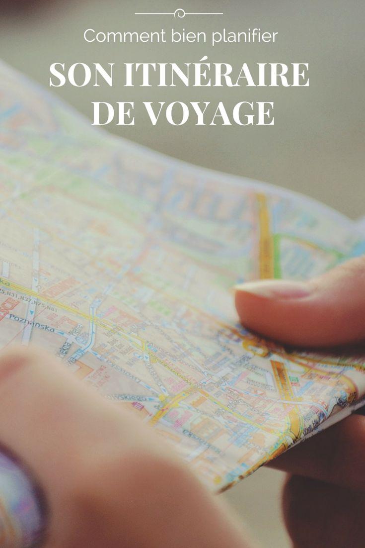 Planifier son itinéraire de voyage peut s'avérer un vrai casse-tête. Voici mes conseils pour vous aider!