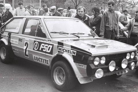 FSO Polonez 2000 Rally Homologation B-261 Class : Under 2000cc Date of Homologation 1 April 1984