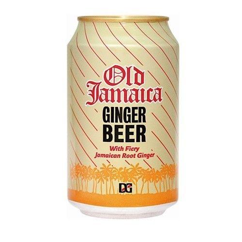 Cerveja Old Jamaica Ginger Beer, estilo Specialty Beer, produzida por Desnoes & Geddes Ltd, Jamaica. 0.5% ABV de álcool.