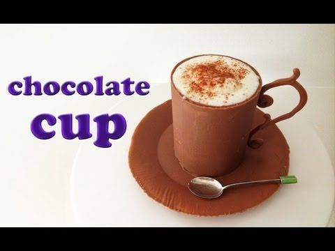 ▶ Chocolate Mousse in Chocolate Cup Recipe HOW TO COOK THAT Ann Reardon Chocolate Bowl - YouTube