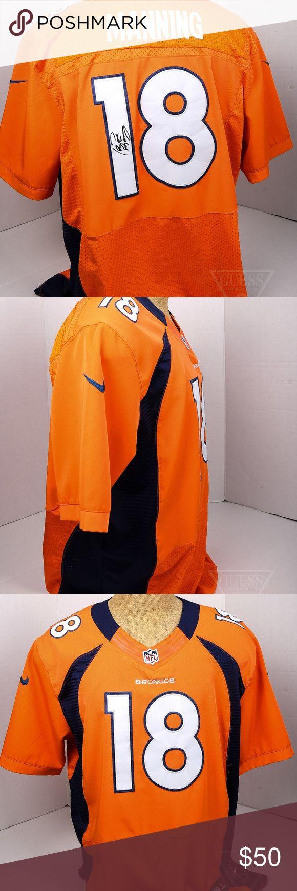 Men's NIKE Peyton MAnning jersey w Signature sz 52 Signed Men's NIKE Peyton MAnning jersey sz 52. autograph is printed on the number. Nike Shirts