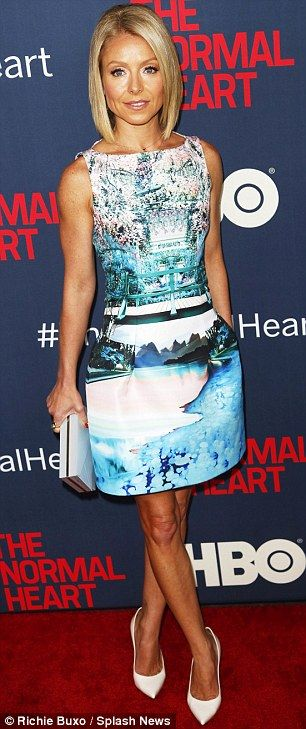 Kelly Ripa The Normal Heart Premiere May 12 2014