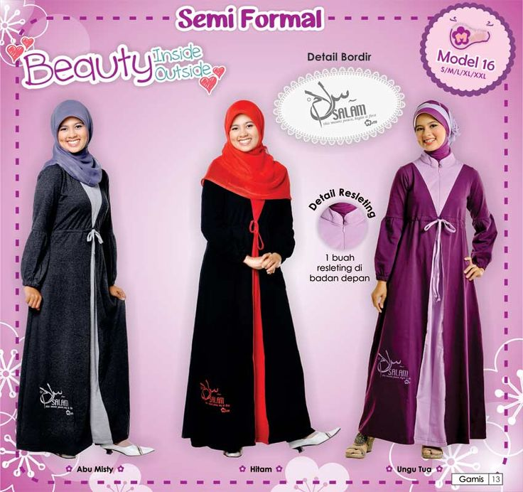 Koleksi Gamis Mutif, Fashionable, Elegant, comfortable, syar'i, modis, and more beauty :)