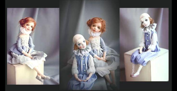 "Мастер-класс по созданию кукол ""Пьеро и Пьеретта"""