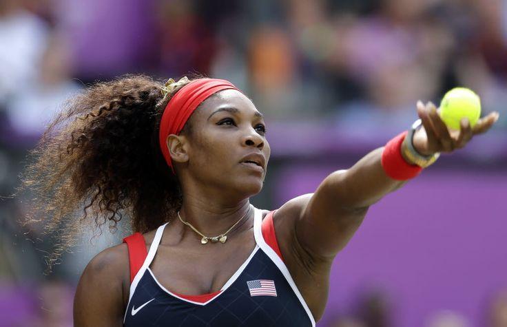 Serena Williams rolls to gold, sweeps Maria Sharapova 6-0, 6-1 in women's Olympic tennis final | masslive.com