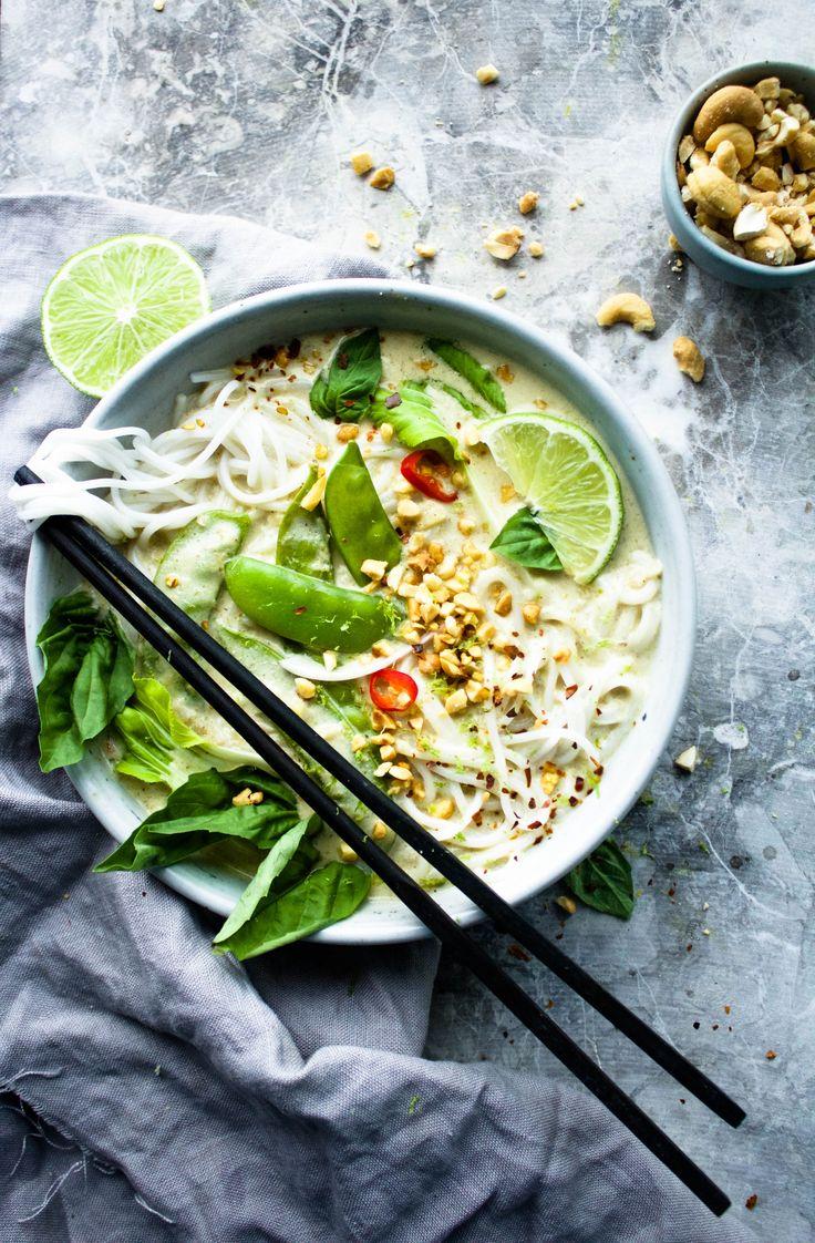 ... vegan Thai green curry ...