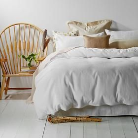 Waffle Quilt Cover Set - King