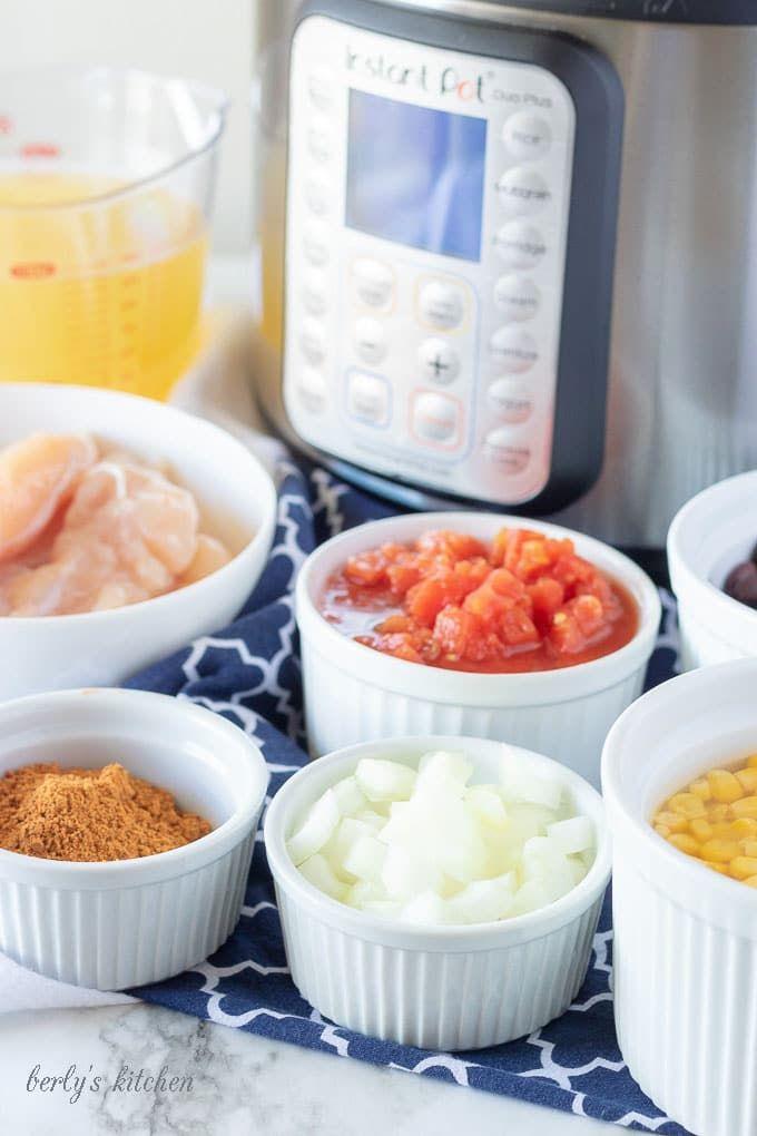 Instant Pot Chicken Taco Soup Recipe Food Instant Pot Pressure