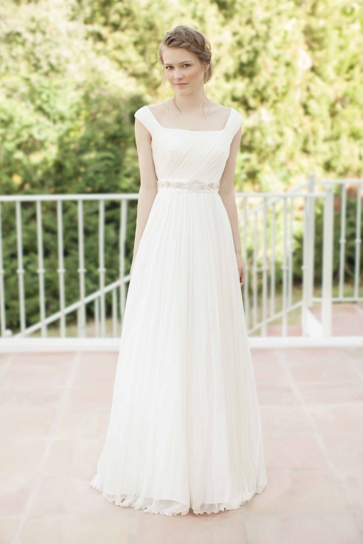 SADONI dress NORMA in draped silk tulle with NIL belt