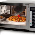La cottura con il forno a microonde