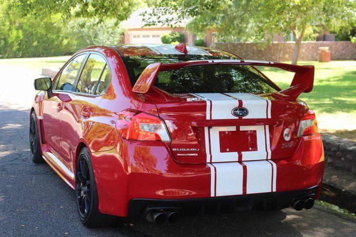 2015 Subaru WRX ESX Red Dragon Edition Up For Sale on ebay US $42,995.2015 ESX Red Dragon Edition 355-horsepower Used Turbo 2.5L H4 16V Manual All Wheel Drive   Source:ebay