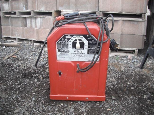 ac 225 lincoln welder. Lincoln Electric AC-225-S AC Arc Welder Ac 225 G