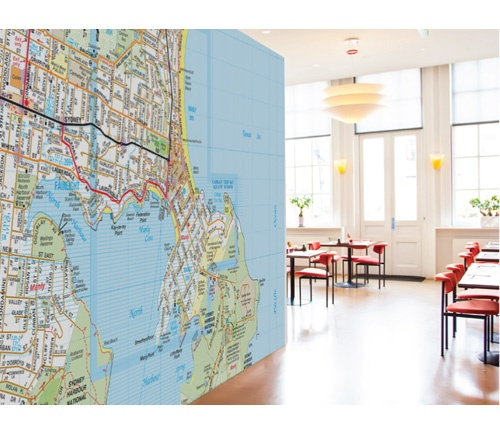 The Wall Sticker Company have joined forces with street directory company  Melway to produce giant stickable - 67 Best Removable Wallpapers Images On Pinterest Wall Stickers
