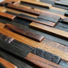 Полоса схема кирпич ванной душа, Из натурального дерева мозаика кухня щитка деревенский дом-стиля ремонт(China (Mainland))