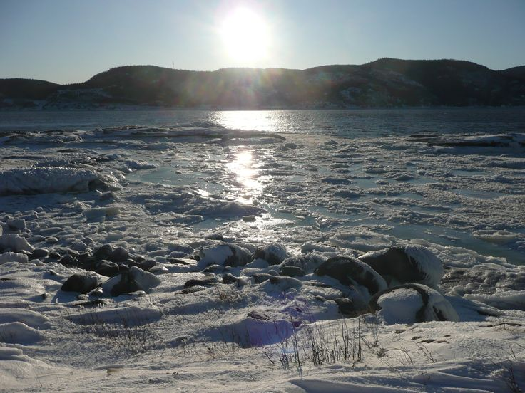 Saguenay in winter
