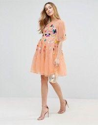 ASOS Maternity Scattered Sequin Mini Dress #colourful #bright #sequins #sequinned #multicoloured #occasion #dresses #feminine
