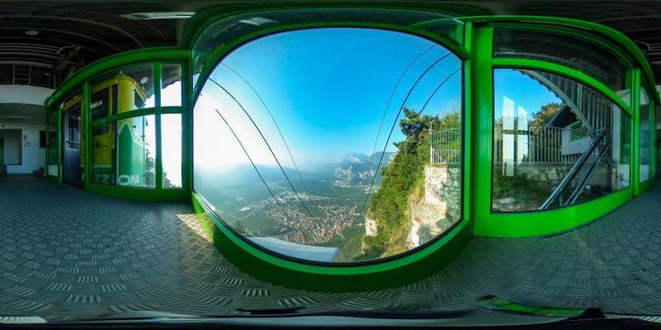 Seilbahn Monte di Mezzocorona - 360° Foto
