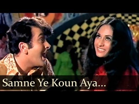 ▶ Samne Yeh Kaun - Randhir Kapoor - Jaya Bhaduri - Jawani Diwani - Bollywood Songs - Kishore Kumar - YouTube