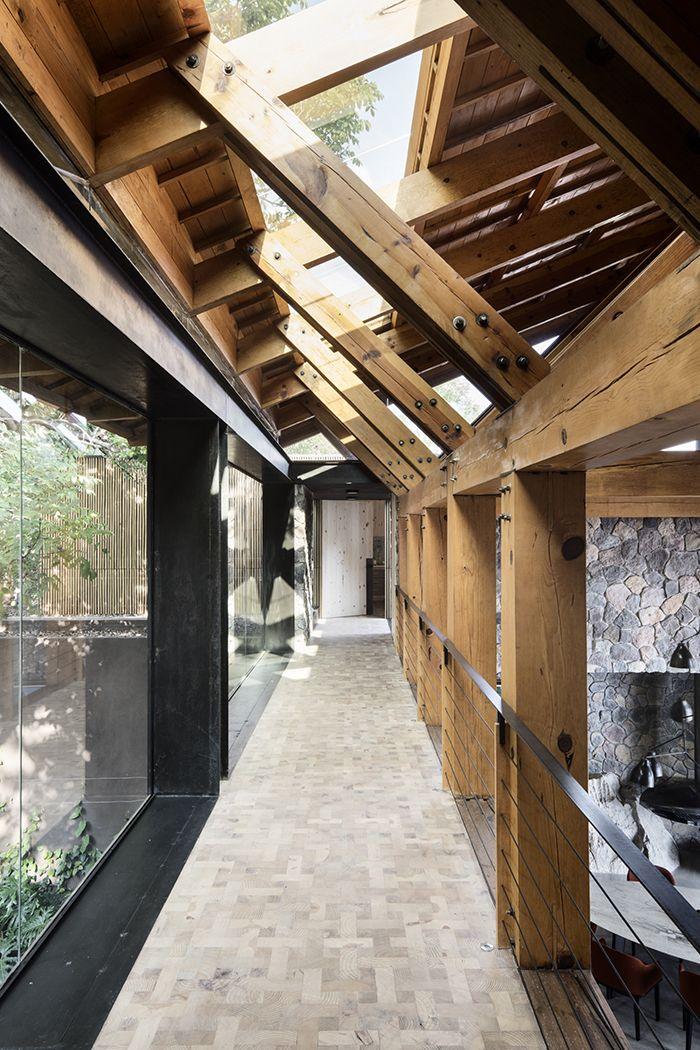 Pierre et bois pour une maison d'architecte | loft and architects' house | Maison architecte ...