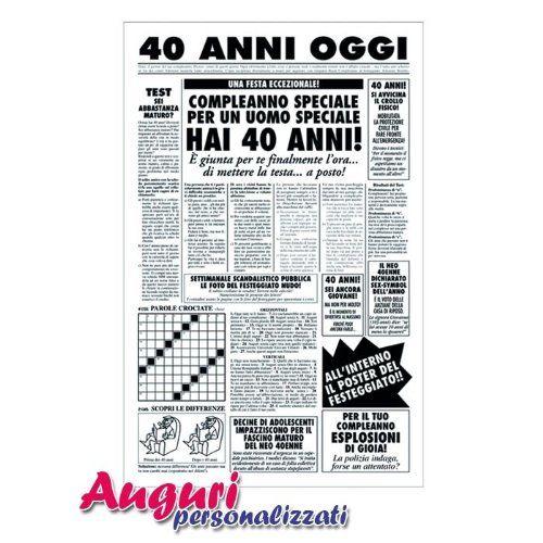 Biglietto auguri giornale compleanno 40 anni amico Bombo https://www.amazon.it/dp/B00E97HJL8/ref=cm_sw_r_pi_dp_x_0AzlybC5HBDH0