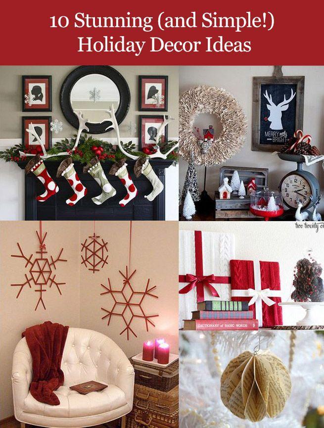 447 best christmas images on pinterest christmas ideas holiday diy holiday decor ideas solutioingenieria Gallery